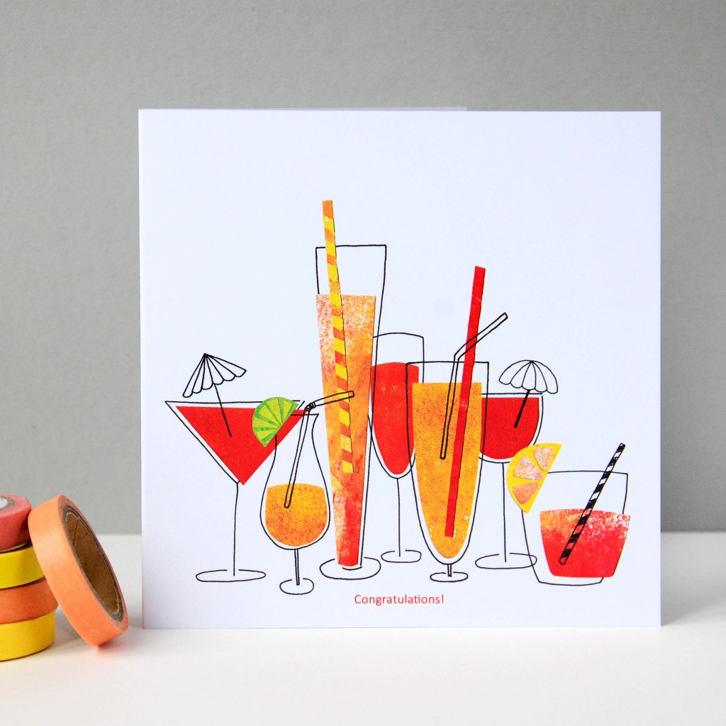 Cocktails Greeting Card