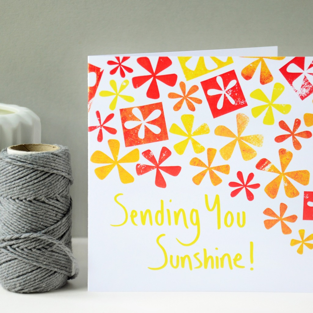 Sending you Sunshine Greeting Card