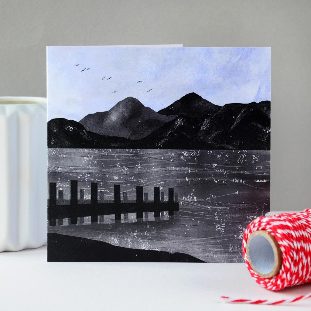 Windermere Waters Greeting Card